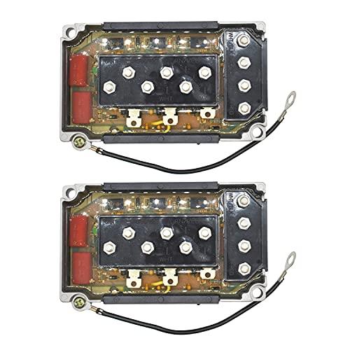 Weelparz 2 Pzas Nuevo Cdi Caja de Interruptor/90/115/150/200 332-7778A12 332-7778A9 332-7778A6 332-7778A3 332-5524A1 Compatible con Mercury Motor Fuera de Borda 60Hp 3Cly 6428681-0D000749