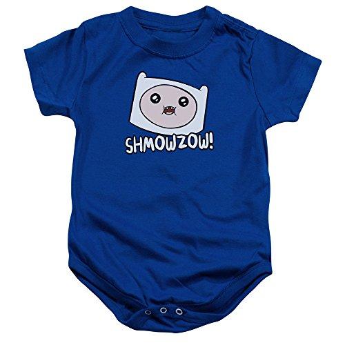 Adventure Time - - Enfant Shmowzow Onesie, 24 Months, Royal Blue