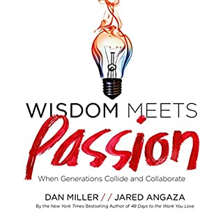 Wisdom Meets Passion audiobook cover art
