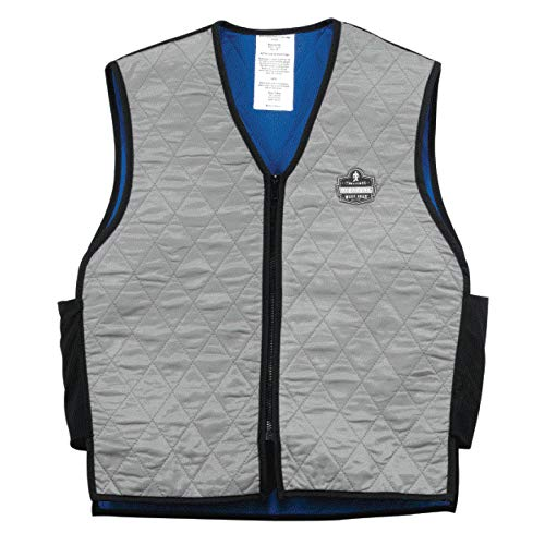 Ergodyne Chill-Its® 6665 Evaporative Cooling Vest, Gray, 2XL