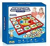 Neo- Juego de Mesa Memory con Ruleta, Multicolor (5083)