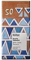 ヴィヴァーニ オーガニックダークミルクチョコレート 50% 80g
