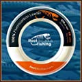 100% FLUOROCARBON LEADER TOURNAMENT Fishing Line   110 & 55 YARD SPOOLS   25lb-200lb Test   Under 30 CENTS/YARD   Lowest Stretch & THINNEST in Industry   UVA/UVB & Abrasion Resistant   Pro Preferred