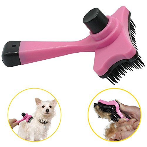 Etechwork Self-Cleaning Pet Hairs Deshedding Brushes
