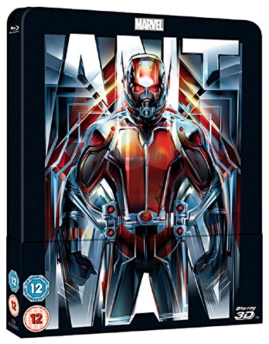Ant-Man 3D (Includes 2D Version) - Limited Lenticular Edition Steelbook Blu-ray