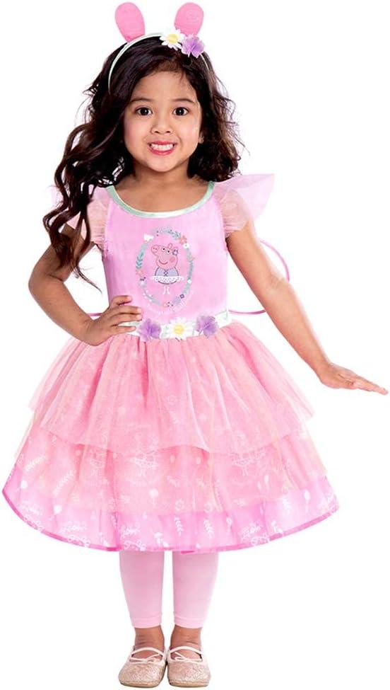 Girls Peppa Pig Princess Fancy Dress Costume   Kids  1-4 Years
