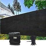 EVERGROW 5' x 50' Black Fence Privacy Screen...