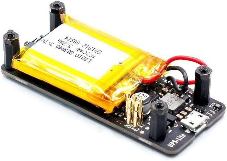 Etase New UPS Lite V1.2 UPS Power HAT Board with Battery Electricity Detection for Pi Zero Zero W