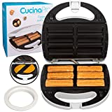Best Empanada Makers - Empanada and Churro Maker Machine- Cooker w 4 Review