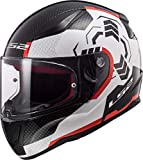 LS2 FF353 Rapid Ghost Helm XXXL
