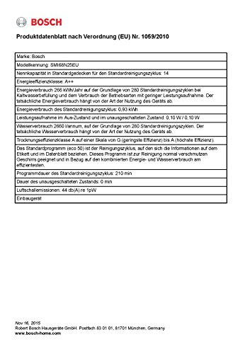 Bosch Serie 6 Geschirrspüler Teilintegriert - 6