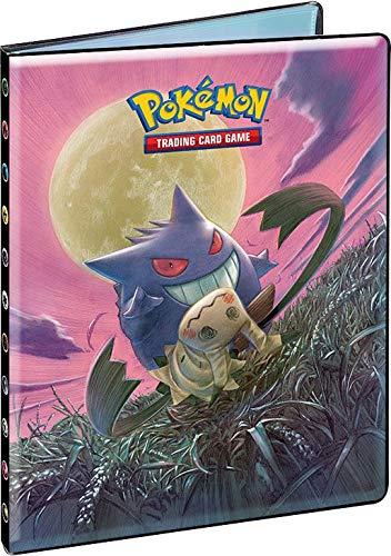 Pokemon Notizheft, Sonnenauflage, Mond Duo, Schokolade (SL09) – Kapazität 252 Karten, 85878, Sammeln