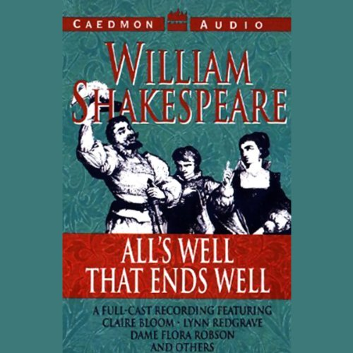 All's Well that Ends Well audiobook cover art