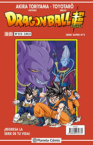 Dragon Ball Serie roja nº 213: 222 (Manga Shonen)