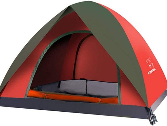 NCBH Tente de Camping Tente compacte légère et résistante à l'eau pour randonnées en Plein air Portable Anti-UV de randonnée