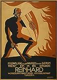 Poster, deutsches Propaganda-Plakat, Aufschrift