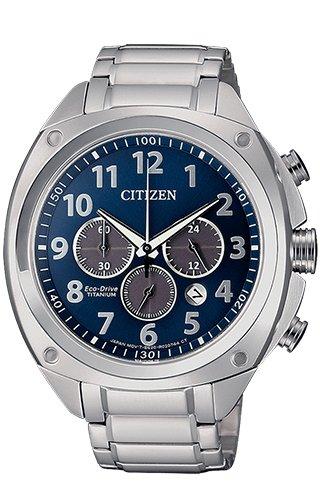 Citizen CA4310-54L - Orologio da uomo Super Titanium Chrono