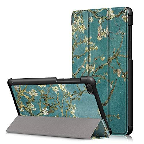 Fmway Lenovo Tab E7 Hülle, PU Leder Flip Schutzhülle Cover Case Tasche mit Ständerfunktion für Lenovo Tab E7 TB-7104F 2018