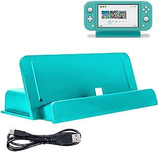 Nintendo switch Lite 充電器 卓上ホルダー ニンテンドー スイッチ LITE 充電スタンド クレードル充電器 急速充電 充電 Dodotop (ブルーグリーン)