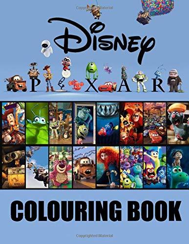 Disney Pixar Colouring Book