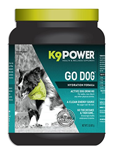 K9 Power Go Dog - Total Hydration and Performance Drink for Active Dogs - 2 Pound