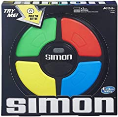 "Classic Simon gameplay Follow lights and sounds Suspense builds as sequences get longer Keeps track of highest score Includes Simon game unit and instructions Requires 3 1.5Volt ""AA"" alkaline batteries (demo batteries included)"