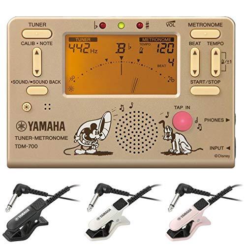 YAMAHA ヤマハ TDM-700DMK ミッキーマウス + TM-30 チューナー/メトロノーム + コンタクトマイクセット/マイク色 BK