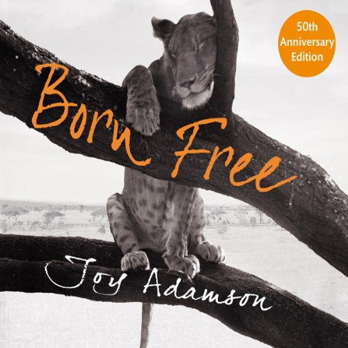 Born Free audiobook cover art