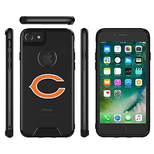Bears Clear Case Compatible with iPhone 6/6s/7/8 4.7' Military Grade Drop Tested Protective Cover Premium Hybrid Full-Body Rugged Bumper Transparent Back Shell for Regular 8 7 6 6S 4.7-inch