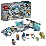 LEGO 75939 Jurassic World Laboratorio del Dr. Wu: Fuga de las Crías de Dinosaurio, Juguete de Construcción con Figura de Triceratops