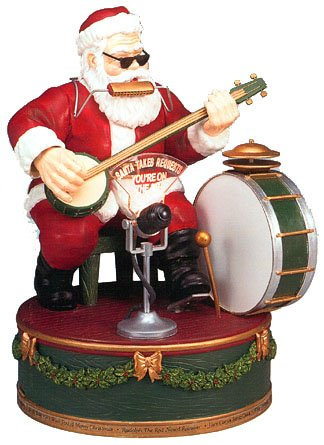 Mr Christmas Gold Label Santa Takes Requests Interactive Collectible