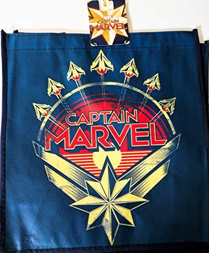 Captain Marvel Insignia Tote Bag - 13.5 x 15.5 Inch