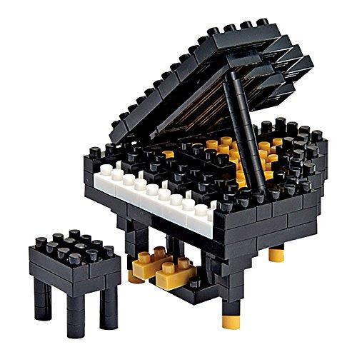 Nanoblock 13930 - Piano, Juego de construcción (NBC017) - P