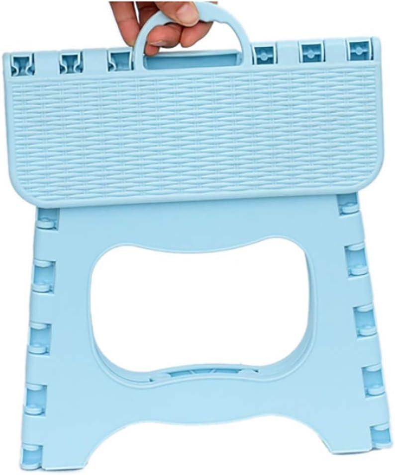 Tabourets de camping Tabouret pliant extérieurs for la maison Portable pliant petit tabouret Mini Mazar plastique Chaise Banc de jeunes enfants Épaississement (Color : D) D