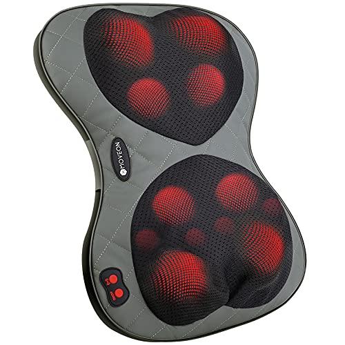 Cojín de masaje extragrande con 12 cabezales Shiatsu, dispositivo de masaje eléctrico...