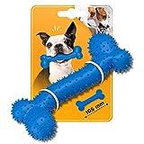 Juguete para masticar para perros, con forma de hueso, tamaño S para masticar, para perros de razas pequeñas, para entrenar y jugar.