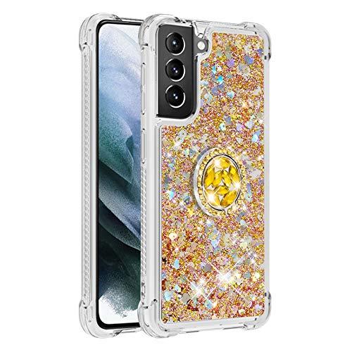 Carcasa para Samsung Galaxy S21 + 5G/S21 Plus 5G (dorada)