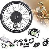CHEIRS 48V 1000W 20'/ 24' / 26'/27.5' / 28'/ 29' / 700C Kits de conversión de Bicicleta eléctrica ebike de Rueda Delantera con Pantalla LCD,RearWheel-27.5INCH