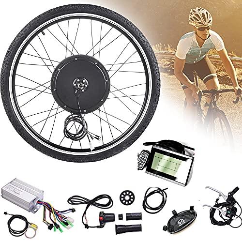 """CHEIRS 48V 1000W 20""""/ 24"""" / 26""""/27.5"""" / 28""""/ 29"""" / 700C Kits de conversión de Bicicleta eléctrica ebike de Rueda Delantera con Pantalla LCD,RearWheel-27.5INCH"""