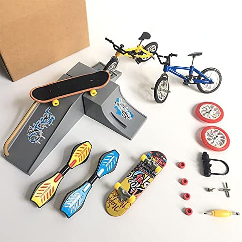 Finger Skateboard Seattle Mall Set Creative with Toy Translated Bicycle Mini