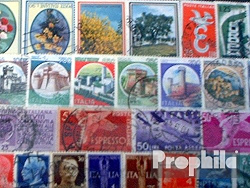 Prophila Collection Italien 100 Verschiedene Marken (Briefmarken für Sammler)