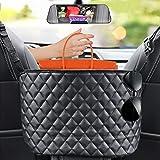 SUNMORN Car Handbag Holder,Car Seat Storage and Handbag Holding Net is Easy to Installation, Car Net Pocket Handbag Holdersuitable for Storing Small Items Such As Wallets and Mobile Phones