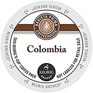 Barista Prima Coffeehouse Colombia,单口咖啡杯 K-Cup,48 只装酿*人