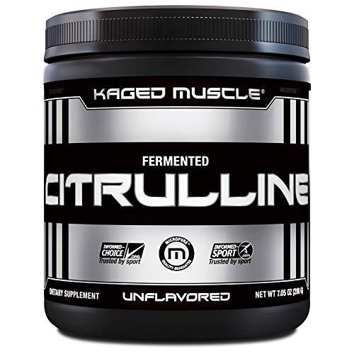 Kaged Muscle Premium L-Citrulline Powder, Enhance Muscle Pumps,...