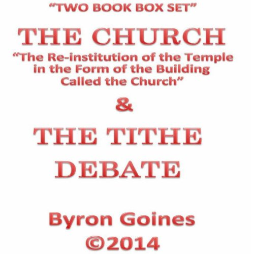 The Church & the Tithe Debate audiobook cover art