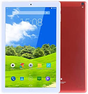 Atouch A102 Tablet 10.1 Inch, Dual Sim, 64GB Storage, 4GB RAM, WiFi, 4G Network, Android Tablet (Red)