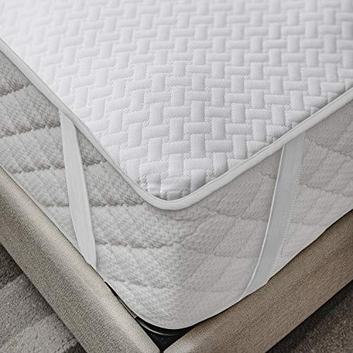 ABAKUHAUS Matratzenschoner Wasserdicht, atmungsaktives Schutz überwurf, elastisch und rutschfest, 100x200cm für Doppelbetten