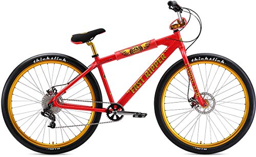 SE Bikes Fast Ripper 29R BMX Bike 2019 (43cm, Red Lightning)