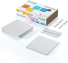 Nanoleaf canvas - Square Modular LED lights panel expansion- Home decor Touch, Voice, Rythm and Application sensitive- Mul...