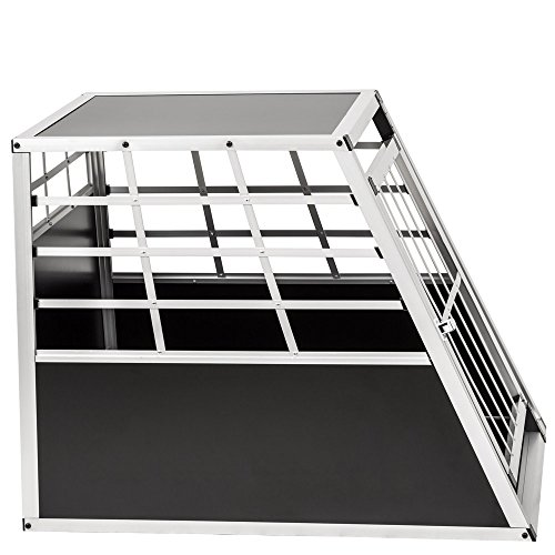 TecTake Alu Hundetransportbox -diverse Größen - 4